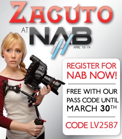 Zacuto Free NAB access code
